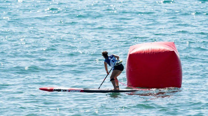 Daniela Spais ganó una medalla de bronce en el Mundial de SUP y paddleboard