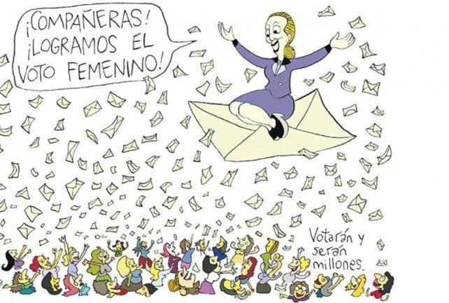 Rep admite que su libro es a favor de Eva Perón