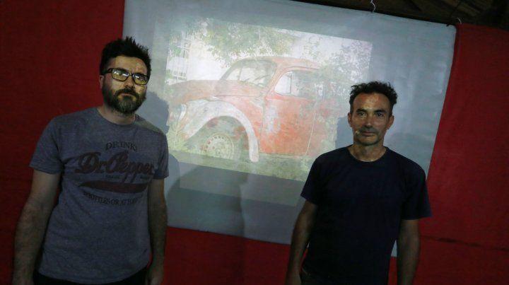 Julián Villarraza y César Vitali dos de los Audios No.