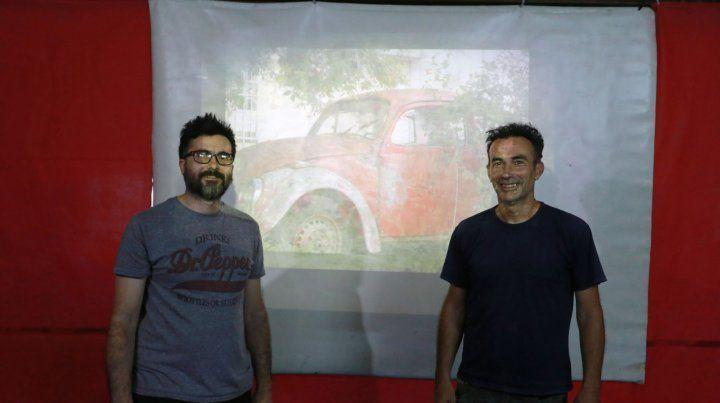 Julián y César son dos de los cuatro fotógrafos que componen Audios No. Ivo Betti y Raúl Perro Perrier completan el grupo que colgará 70 fotos en la galería del MST.