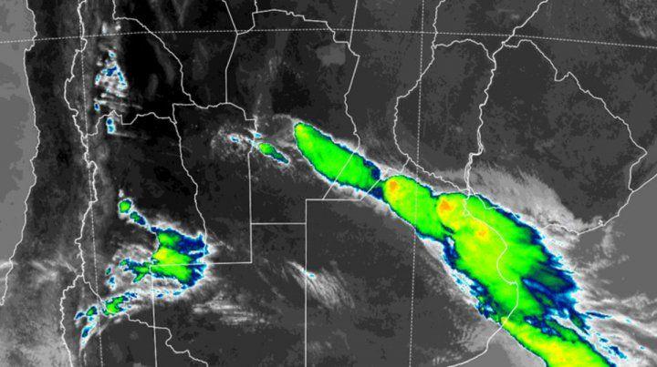 Alerta meteorológico incluye a Entre Ríos
