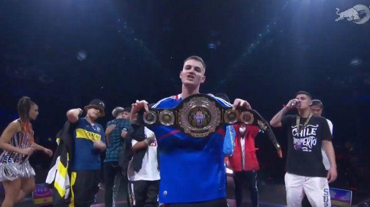 El campeón español.