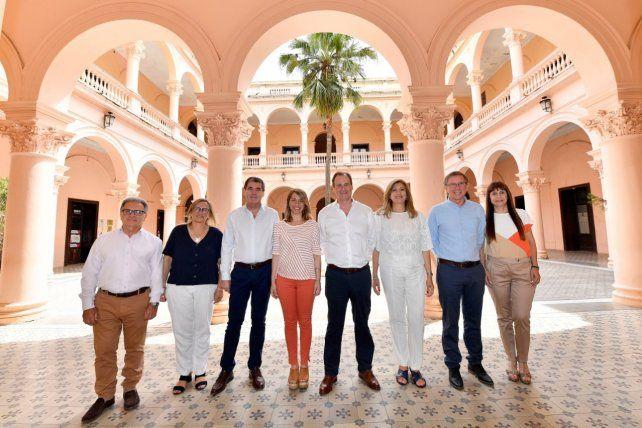 Bordet confirmó el nuevo gabinete, al que se incorporarán Bahillo y Paira