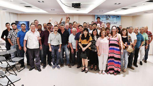 El arco sindical de Paraná ratificó su respaldo a Adán Bahl