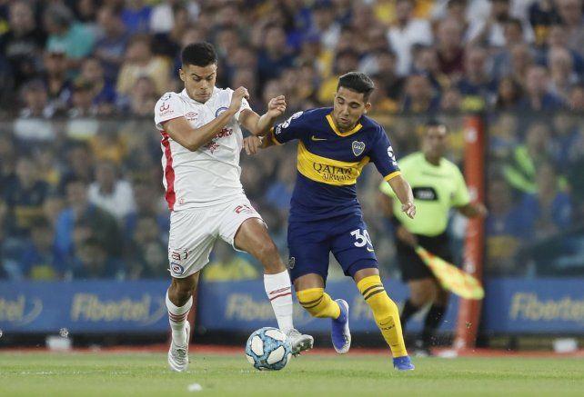 Boca y Argentinos igualaron en La Bombonera