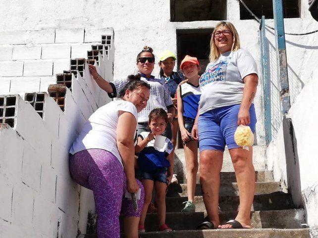 Las chicas del Tricolor.