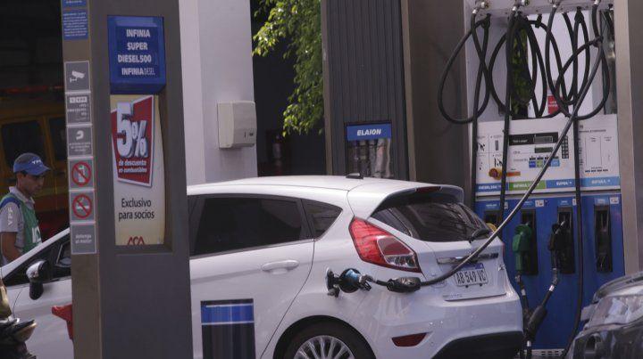 Aumento de combustibles: Así quedaron los precios en los surtidores de Paraná