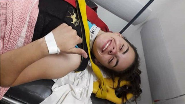 Jocketa entrerriana sufrió una brava rodada y tiene fractura de pelvis