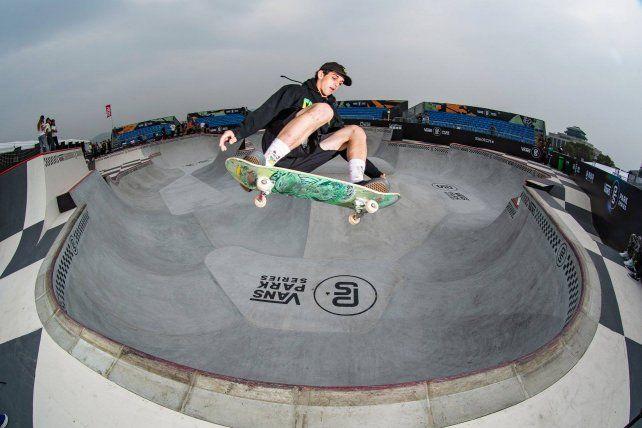 Skate en el bowl.