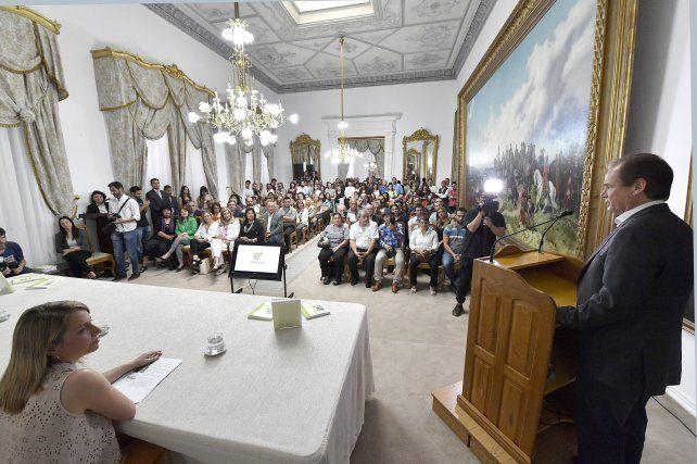 Bordet remarcó que el Estado seguirá garantizando derechos en la nueva gestión