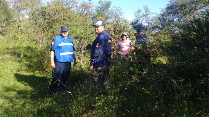 Encontraron restos humanos y analizan si se trata de un hombre desaparecido