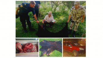 detuvieron a un policia y a su hermano por carnear ajeno
