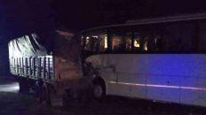 El siniestro ocurrió en el kilómetro 104 de la Autopista Santa Fe-Rosario.