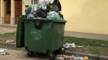 Otra vez, las calles llenas de basura