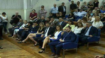 juraron integrantes del nuevo concejo deliberante de parana