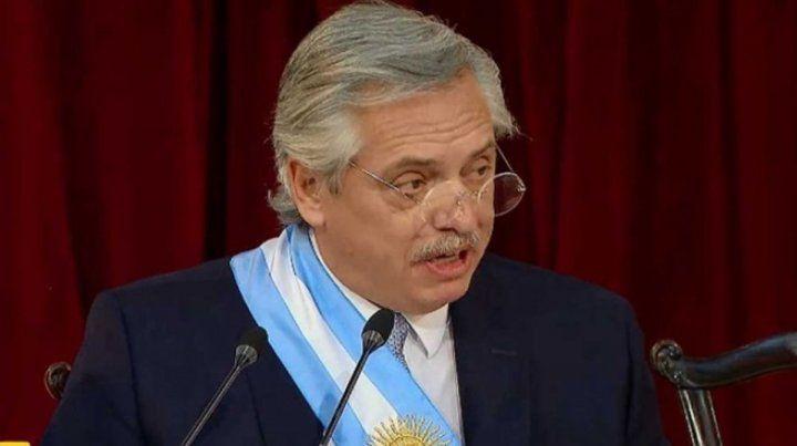 Las principales frases de Alberto Fernández