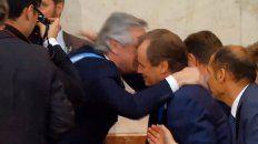 el saludo del presidente fernandez al gobernador entrerriano