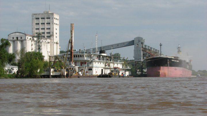 Los puertos necesitan el dragado para funcionar.
