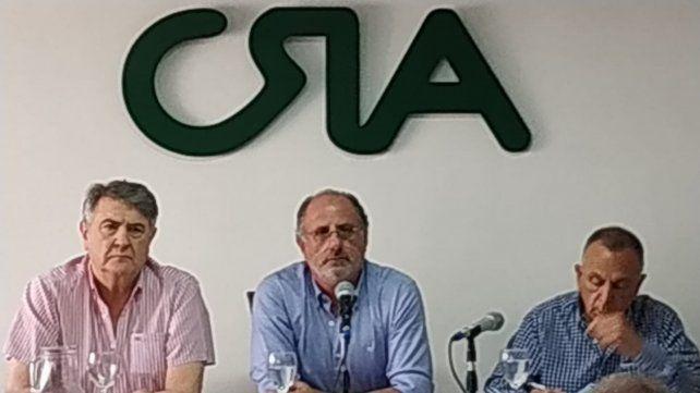 Trabajo intenso. Chemes fue elegido como presidente de CRA.