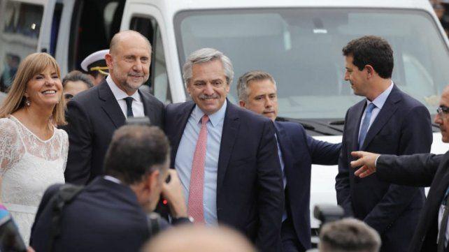 Asumió Perotti: Nunca más de espaldas a un proyecto nacional