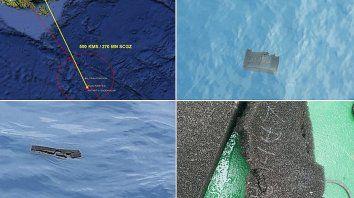 Confirman que los restos son del avión chileno