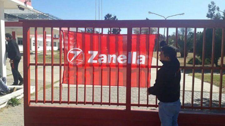 Zanella puso la bandera de remate
