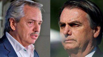 bolsonaro invito a alberto fernandez a brasil
