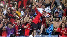 Los simpatizantes del Sabalero coparon La Nueva Olla en la final de la Sudamericana.