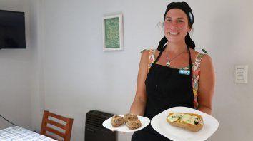 Julia Ortenzi prepara muffins de avena y calabaza rellena