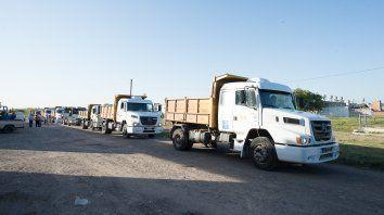 municipales trabajan en doble turno para la recoleccion de residuos