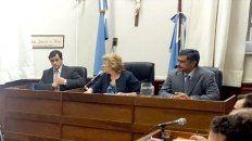 En Gualeguaychú la censura se repite en juicios resonantes.