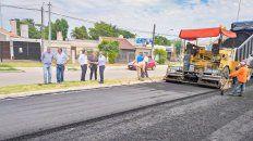 funcionarios recorrieron las obras del acceso sur a la ciudad de parana