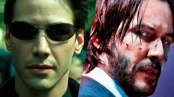 El día que Keanu Reeves competirá consigo mismo