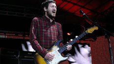 el guitarrista john frusciante vuelve a red hot chili peppers