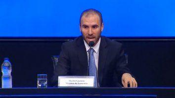 el ministro de economia presento el paquete de medidas economicas