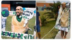 retiran titulo a alumno que festejo disfrazado de victima de femicidio