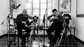 el duo juanca - sedil presenta el entrerriano, su disco de tangos