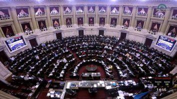diputados trata la ley de emergencia economica