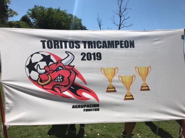 La bandera de la Agrupación sumó una nueva copa.