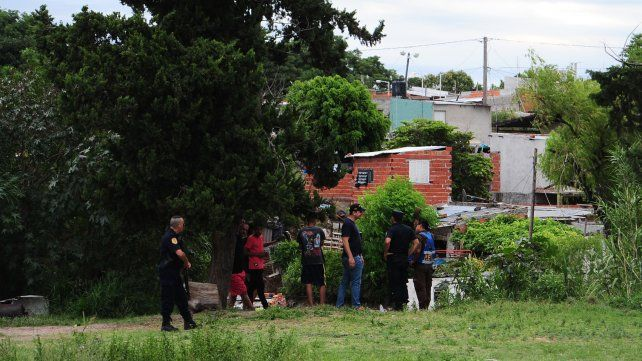 La investigación está centrada en las casas que están a la vera del arroyo.