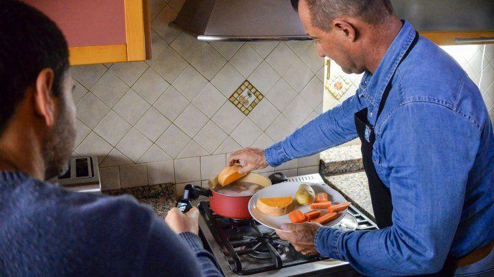 Gustavo Renaud apuesta fuerte por la comida saludable