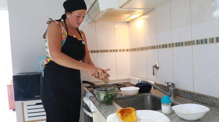Un plato saludable de la mano de Julia Ortenzi