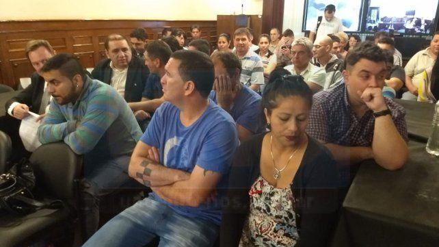 Lemos ratificó la acusación contra Varisco, Hernández y Bordeira