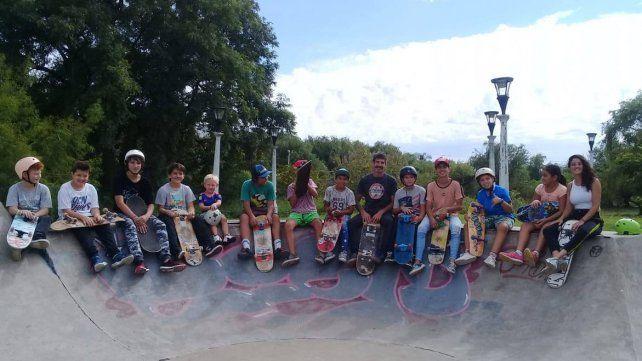 Una escuelita de skate inclusiva y autogestiva.