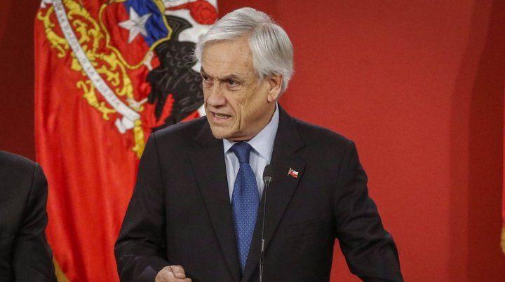 El presidente de Chile dice que gobiernos extranjeros influyeron en el estallido