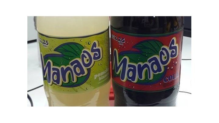 Ordenan retirar del mercado tres lotes de gaseosa Manaos.