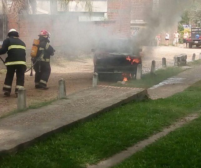 La policía confirmó que en Chajarí la temperatura es muy elevada.