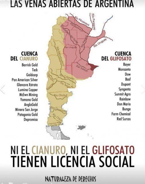 Banderazo en Paraná por la defensa del agua