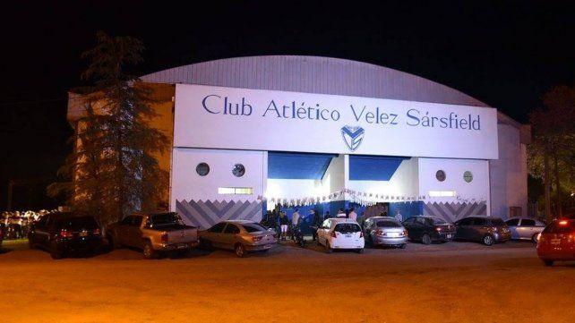 El hecho tuvo lugar en el club Vélez Sarsfield de Chajarí. (Foto Ilustrativa)