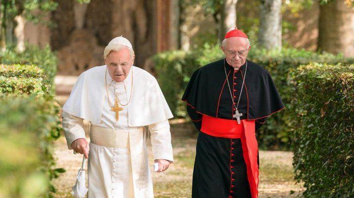 Los dos Papas, un relato promocional sobre las bondades del Vaticano